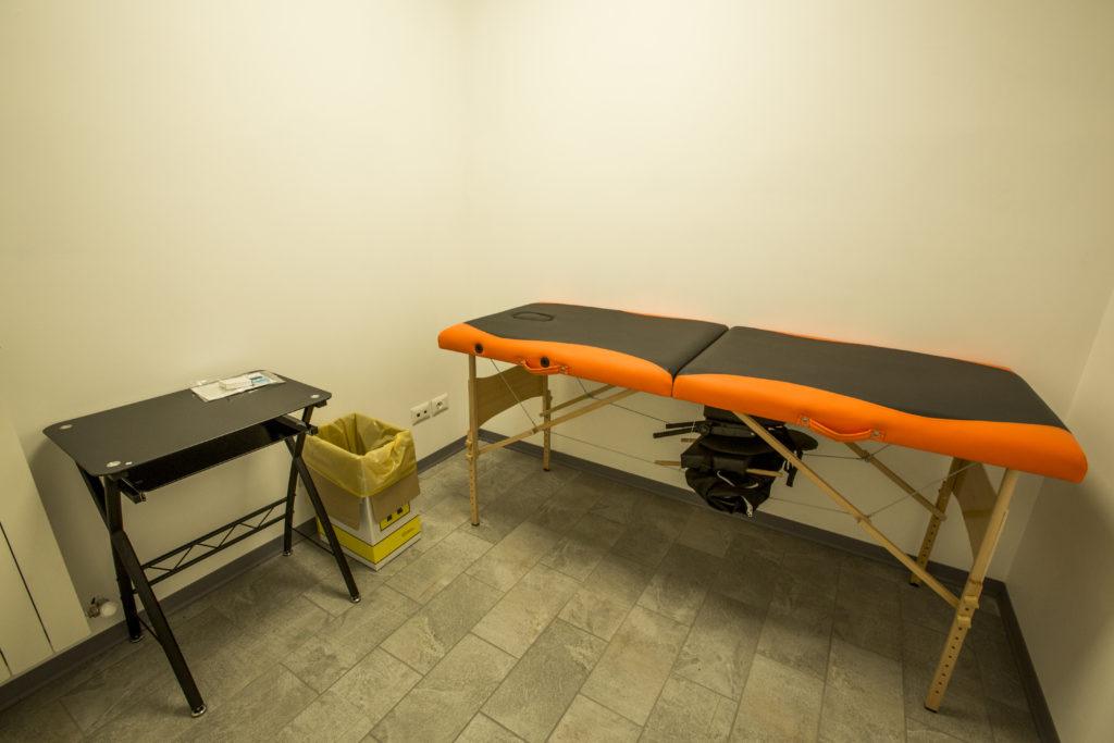 Sala massaggi della palestra FitFighters